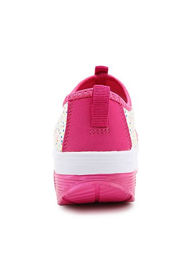 Deporte tejido a di US8 la UK6 EU39 negro 5 plataforma exterior ZQ Viola 5 Comfort us8 Rosa Scarpe casual creepers rosa sneakers moda cu uk6 5 as CN40 mujer cn40 Viola eu39 5 ZgqgOR5wz
