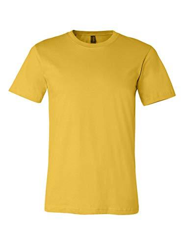 Canvas Unisex Jersey T-Shirt, Maize, XX-Large