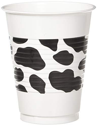 - amscan Western Printed Plastic Cups, One Size, Multicolor