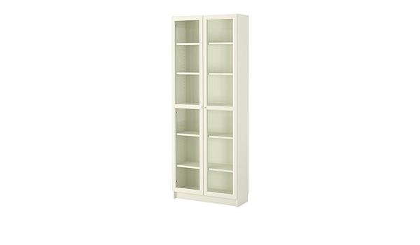 IKEA BILLY / OXBERG - Librero, blanco - 80x202x28 cm: Amazon ...