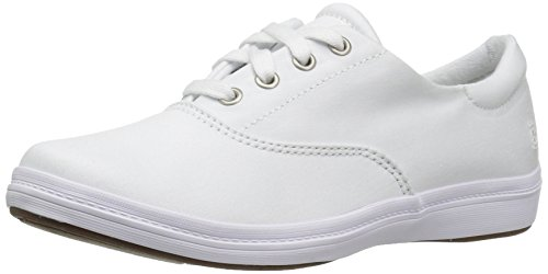 - Grasshoppers Women's Janey II Twill Sneaker, White, 9 M US