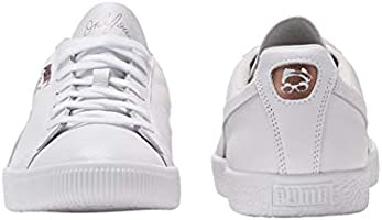official photos 4fe0c 91c05 PUMA Clyde X Emory Jones Mens White Leather Lace Up Sneakers ...
