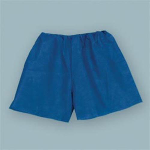 Exam Shorts, Non-Woven, Large 32''-40'', Dark Blue 100 pk by Tidi Products, LLC
