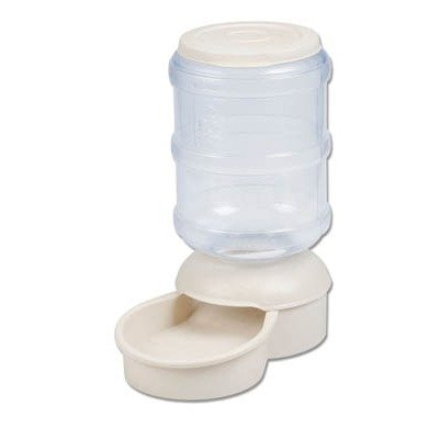 Le Bistro Microban Automatic Pet Feeder in White Capacity: 10 Pounds ()