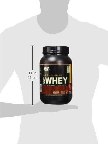 Optimum Nutrition Gold Standard Whey Protein Powder, Banana Cream, 2 Pound
