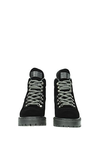 3t6358 Donne Sneakers Uk Nere Velluto Prada a6OSwqYx