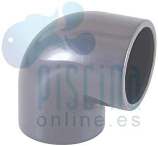 D - 01716 50 mm Astralpool Codo 90/º de PVC para encolar
