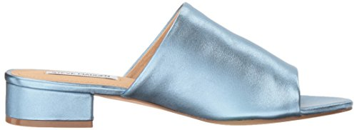 Metallic Women's Steve Blue Sandal Madden Briele YqXRq