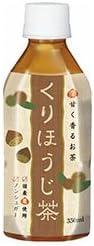 ハイピース くりほうじ茶 HOT&COLD 350mlペットボトル×24本入×(2ケース)