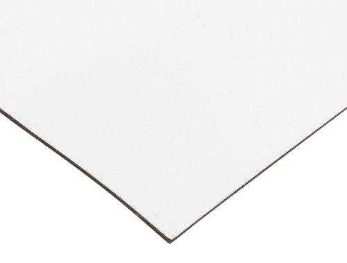 Flexible Magnetic Sheet, White Vinyl, Sign Blank, 0.030