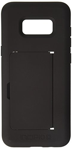 Incipio Technologies Samsung Galaxy S8 Plus Stowaway Credit Card Hard Shell Case with Silicone Core - Black from Incipio