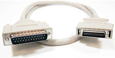 10 Foot IEEE 1284 DB25 to Centronics 36 Pin HP Parallel Printer Cable