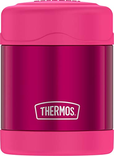 (Thermos Funtainer 10 Ounce Food Jar, Pink)