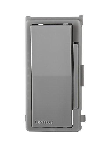 Leviton DDKIT-G Decora Digital/Decora Smart Dimmer Color Change Kit, Gray