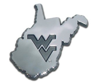 - West Virginia University Mountaineers NCAA College Debossed