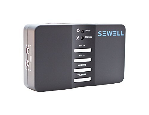 Sewell Direct Sound Box External USB Sound Card 7.1 and 5.1 Channel Audio (SW-29545)
