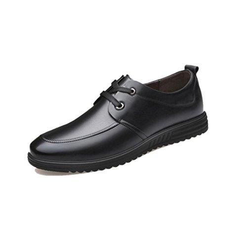 Stagione Affari Stivali Black in Casual Tela Pelle Uomo Colore A Nastro Morbido Sandali Tondo Sportivi Punta Scarpe qvIHAUaIw