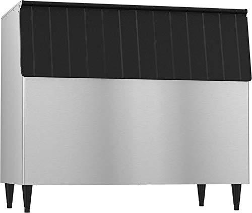 - Hoshizaki B-900SF, 900 lbs of Ice Storage, Stainless Steel Exterior