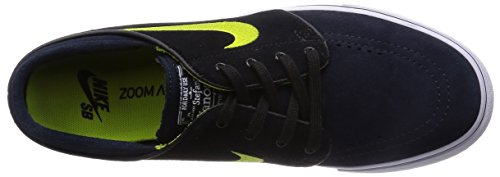 Nike Herren Zoom Stefan Janoski Skateschuh Dunkler Obsidian / Cyber-Schwarz-Weiß