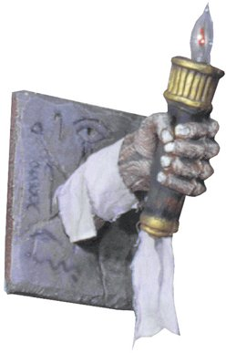 WMU 564807 Egyptian Chamber Poly-Foam Torch
