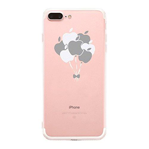 Price comparison product image Beryerbi i Phone 7 Plus Case Super Slim Clear Flexible TPU Protective Cover for Apple iPhone 7 Plus (6, iPhone 7 Plus)