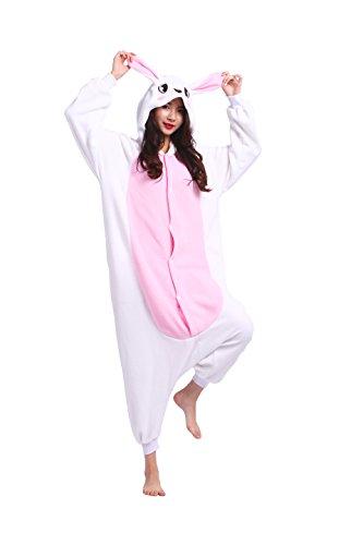 Pigiameria Unisex Costumi Onesie Insetti Kigurumi Nuovo Rosa Pigiami Felpa Adulti Cartoon Animali Magicmode Coniglio Cosplay XgxnqHHP