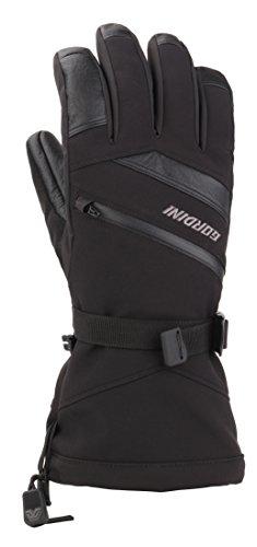 Gordini Men's Men's Intermix Insulated Gauntlet Gloves, Black, XX-Large (Intermix Clothing)