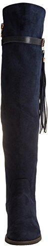 030446 Azul Botas Navy Mujer para XTI aY0n4vdq4