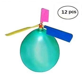 BAIVYLE Kids Toy Balloon Helicopter (12 pack)Children's Day