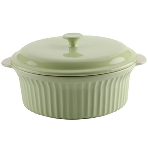 Oval Covered Deep Dish (Typhoon Vintage Green Casserole Large)