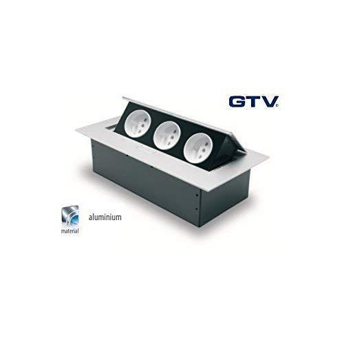 GTV suelo enchufe pared enchufe enchufe de mesa acero inoxidable ...