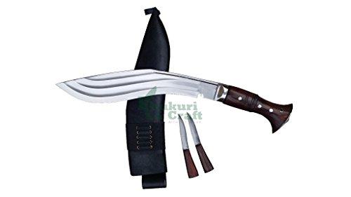 12 blade tin chirra(3 fullers) beast kukri working,military knives,handmade by Khukuri  Craft, Nepal