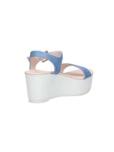 Brigitte BJ113 Sandalias Mujer Azul