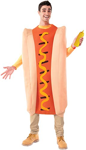 Forum Novelties Men's Hot Dog Costume, Multi, Standard