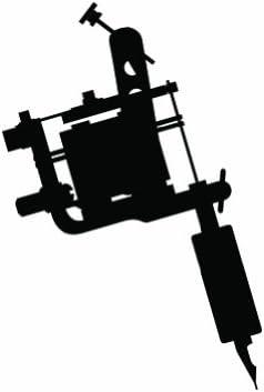 Clipart-Bild Induktion-Tattoo-Maschine-Symbol.