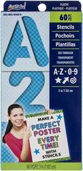 Artskills Bulk Buy (3-Pack) Reusable Stencils 3 inch PA-1348 by ArtSkills