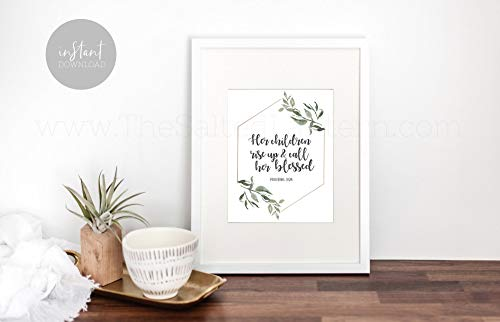 Arvier Mothers Day Printable Last Minute Bible Verse Printable Printable Art Printable Quote About Moms]()