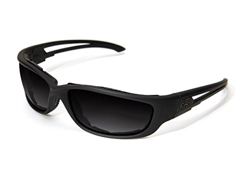Edge Eyewear Blade Runner XL Matte Black Frame with Gasket/Polarized Gradient Smoke Lens