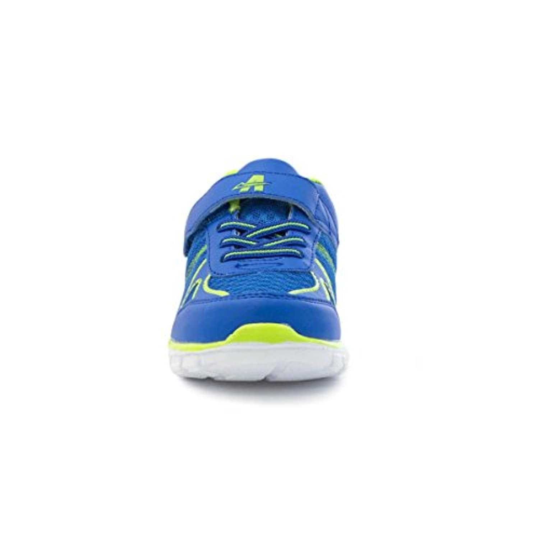Ascot Kids Blue Velcro Mesh Lightweight Trainer - Size 6 - Blue