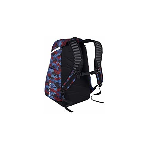 red white and blue nike backpack