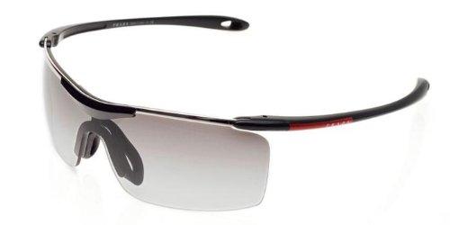 Rossa DEMI 53MS de Linea Sol Gafas BLACK Prada GRAY PS SHINY 7nIqa7T0