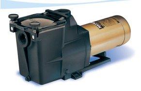 Hayward Super Pool Pump - Hayward 1HP 2 Speed Heavy Duty Motor Super Circulation Pump w Switch SP2607X102S