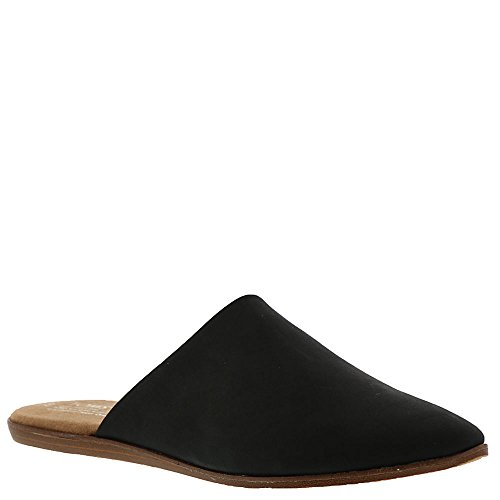 TOMS Women's Jutti Mule Black Leather 8.5 B US