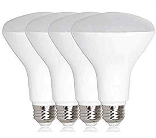 CTKcom 7W BR20 LED Light Bulb (4 Pack)- 2.5 inch 65W Equivalent Indoor/Outdoor Lighting Super Bright 6000K Daylight White 120° Beam Angle LED Indoor Flood Light Bulbs,UL Listed,E26 Base