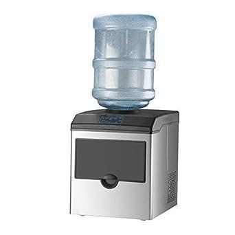 Amazon.com: KUPPET 2 en 1 máquina de hacer hielo comercial ...