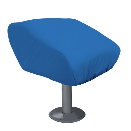 Classic Accessories Boat Folding Seat Cover, Medium, Blue