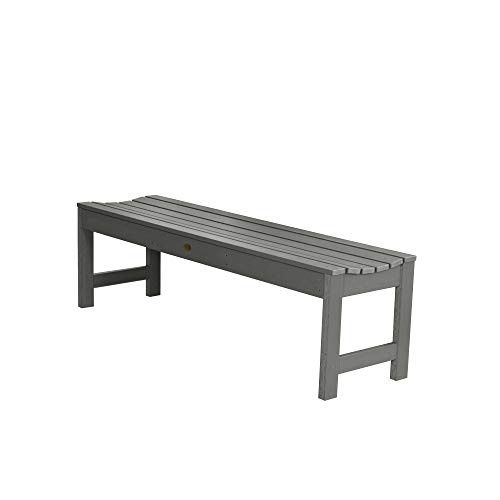 Highwood AD-BENN1-CGE Lehigh Backless Bench, 5 Feet, Coastal Teak