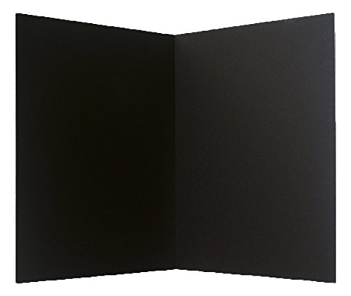 Pack of 24 Totally Black Foam Bi-fold Boards (20x30in) - only $5.79 each! by Flipside