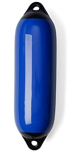 Marine Fender Bootsfender Rammschutz Langfender blau Größe Größe 1 SET (4 Stück)