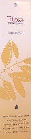 Incense Amber Premium 10 Sticks Triloka 120438